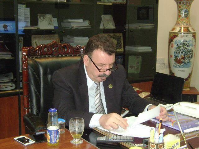 لقاء السيد رئيس الجامعة مع قناة الوفاء في برنامج مع المسؤول