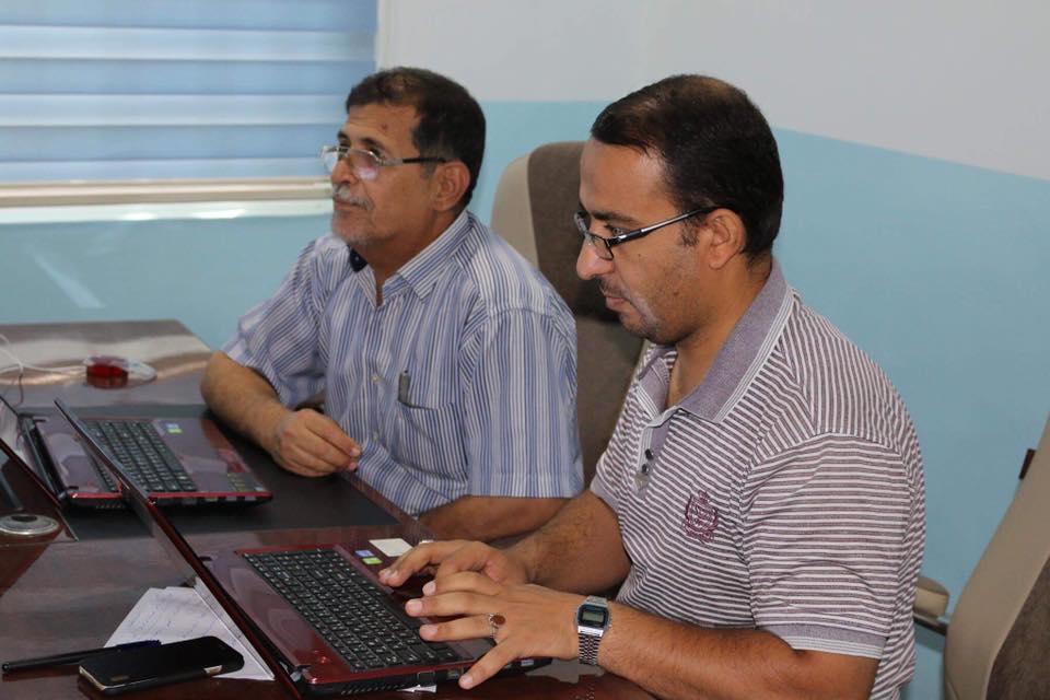قسم الحاسبة الالكترونية بجامعة الفرات الأوسط التقنية يختتم دورة تدريبية في برنامج الآكسل