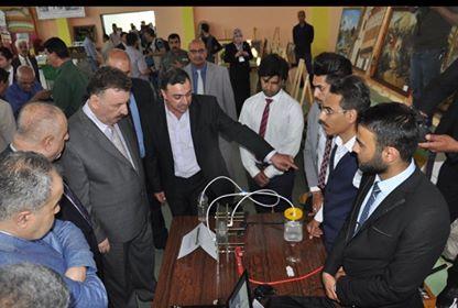 جامعة الفرات الأوسط التقنية تنظم معرضاً للنتاجات العلمية والفنية وبزارات خيرية